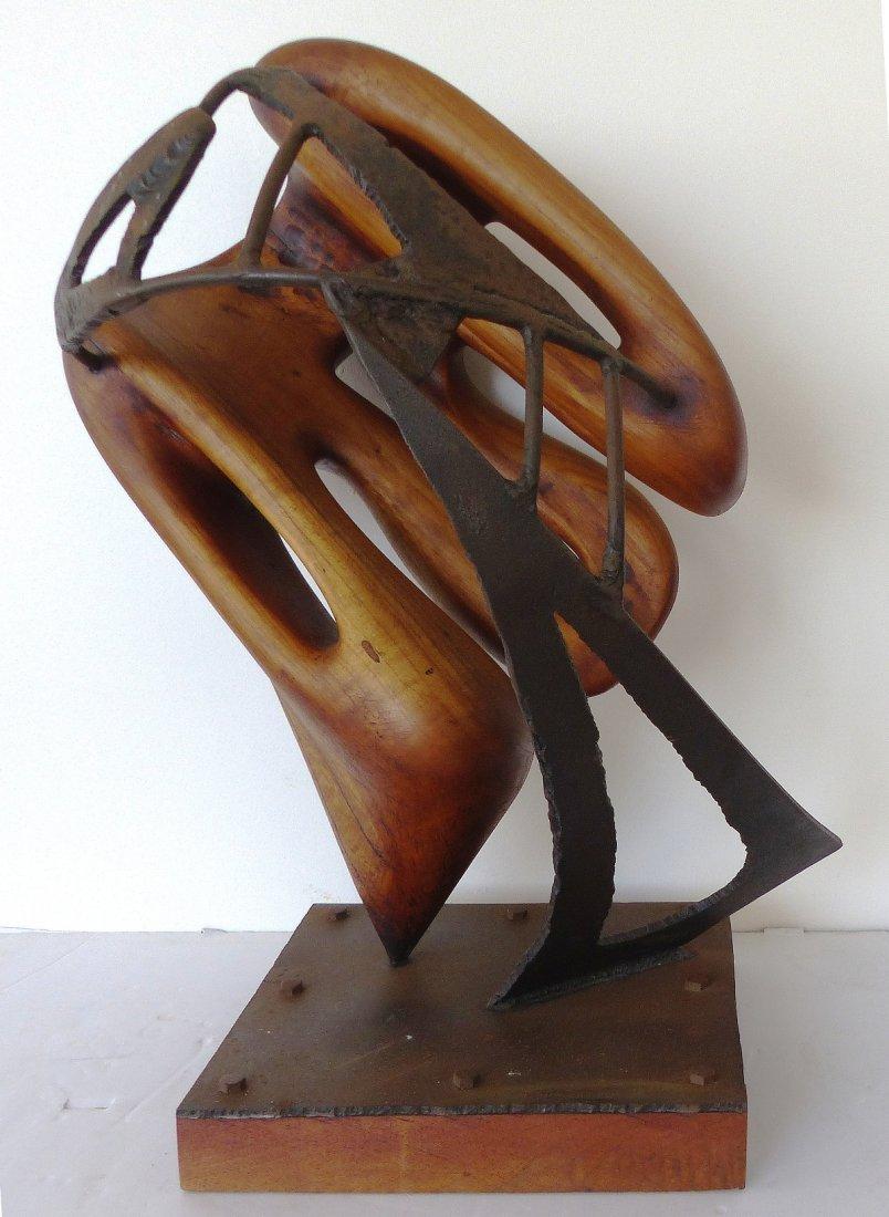 Michael Moser Vintage 1980 Modernist Sculpture - 4