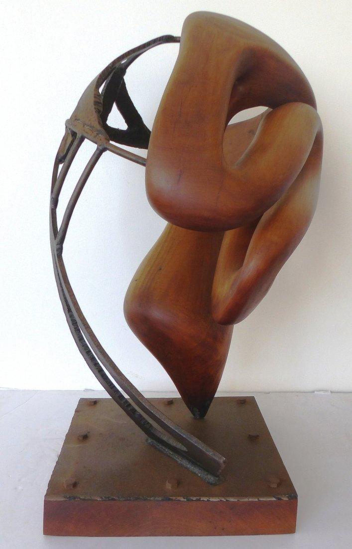 Michael Moser Vintage 1980 Modernist Sculpture - 5