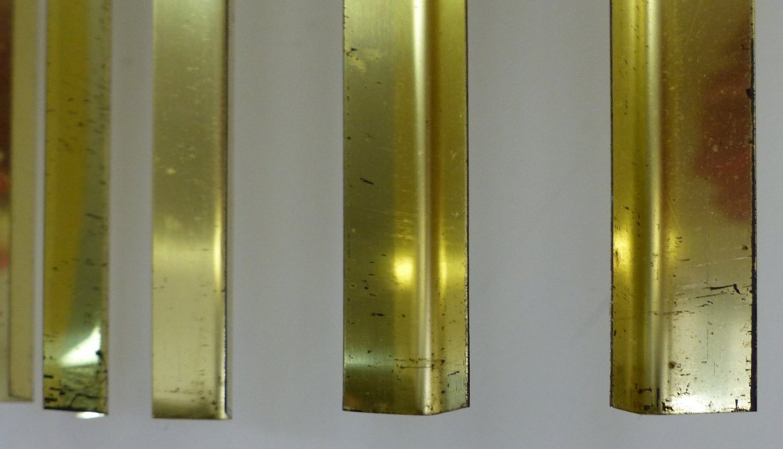 Curtis Jeré Brass Wave Wall Sculpture - 2