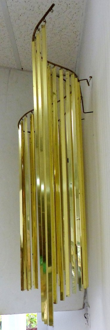 Curtis Jeré Brass Wave Wall Sculpture - 4