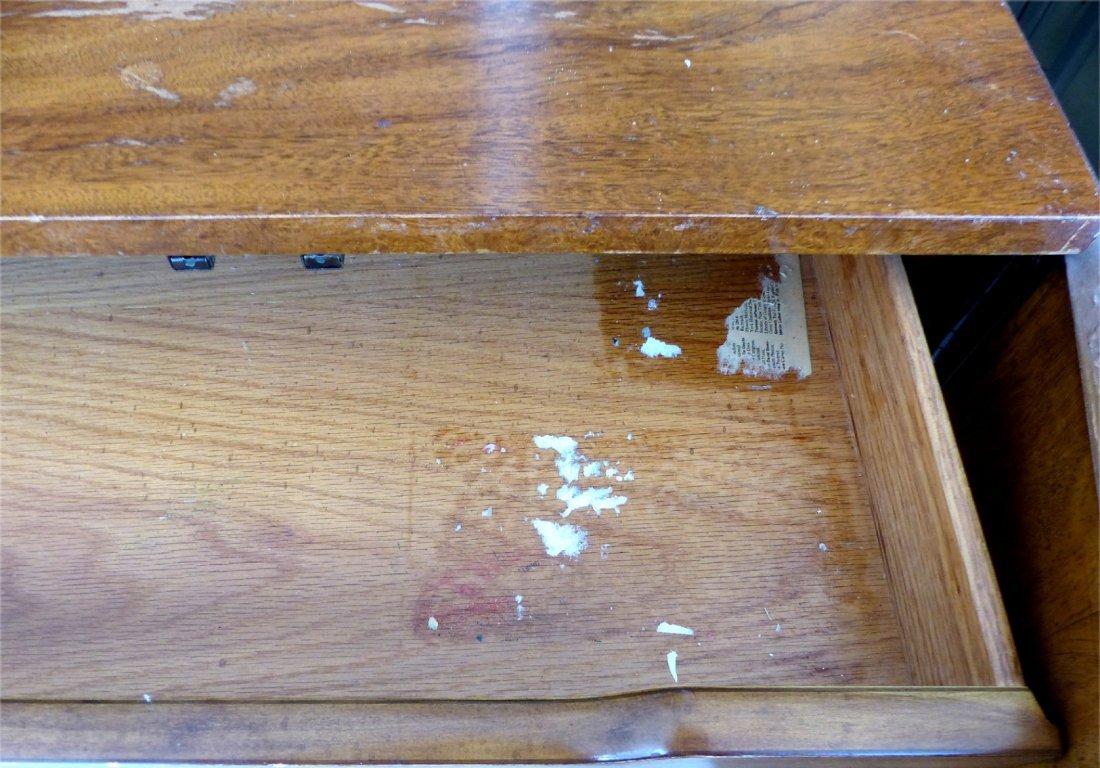 Mid-century Burl Side Table/Nightstands Baughman Style - 10