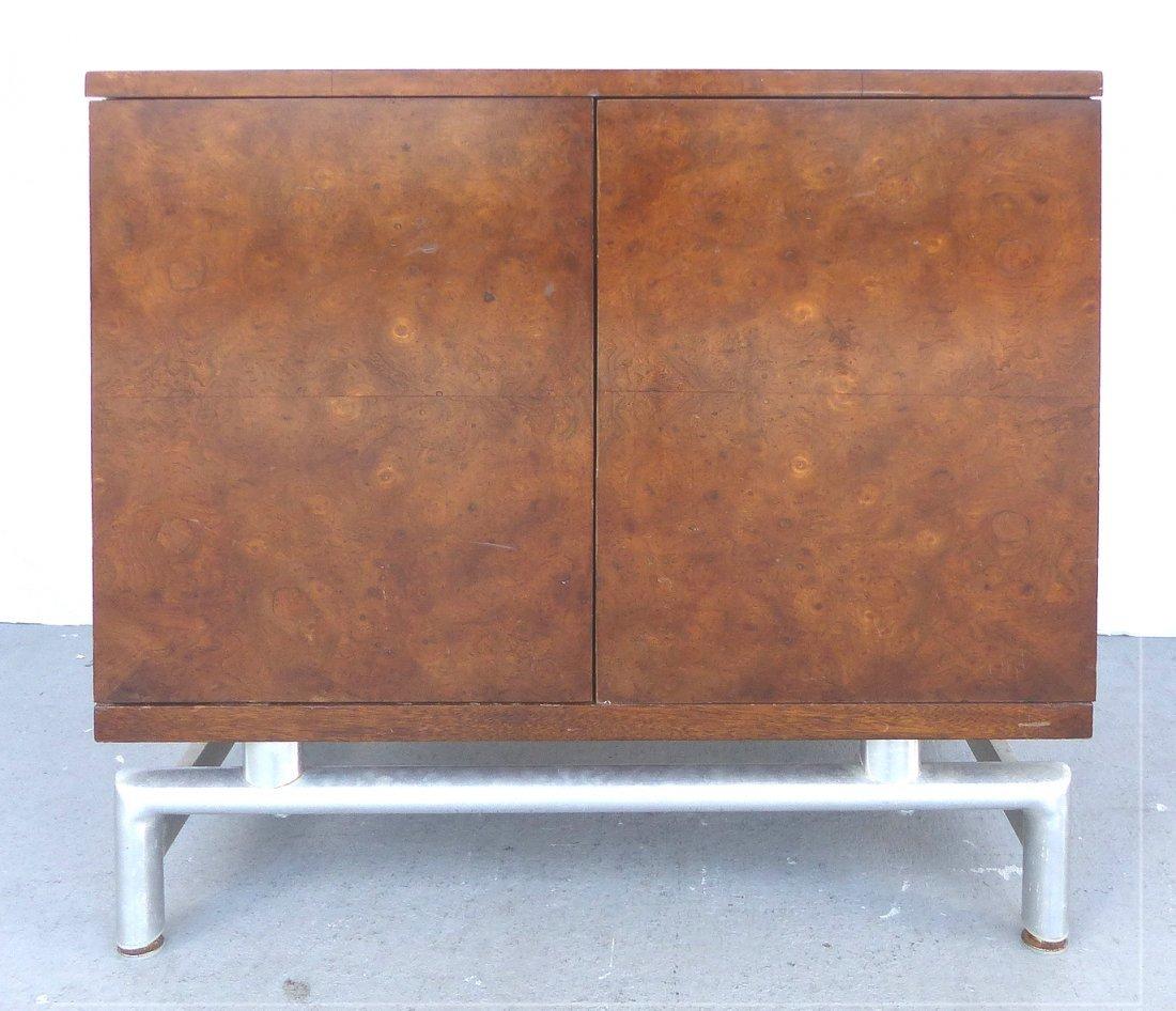 Mid-century Burl Side Table/Nightstands Baughman Style - 2