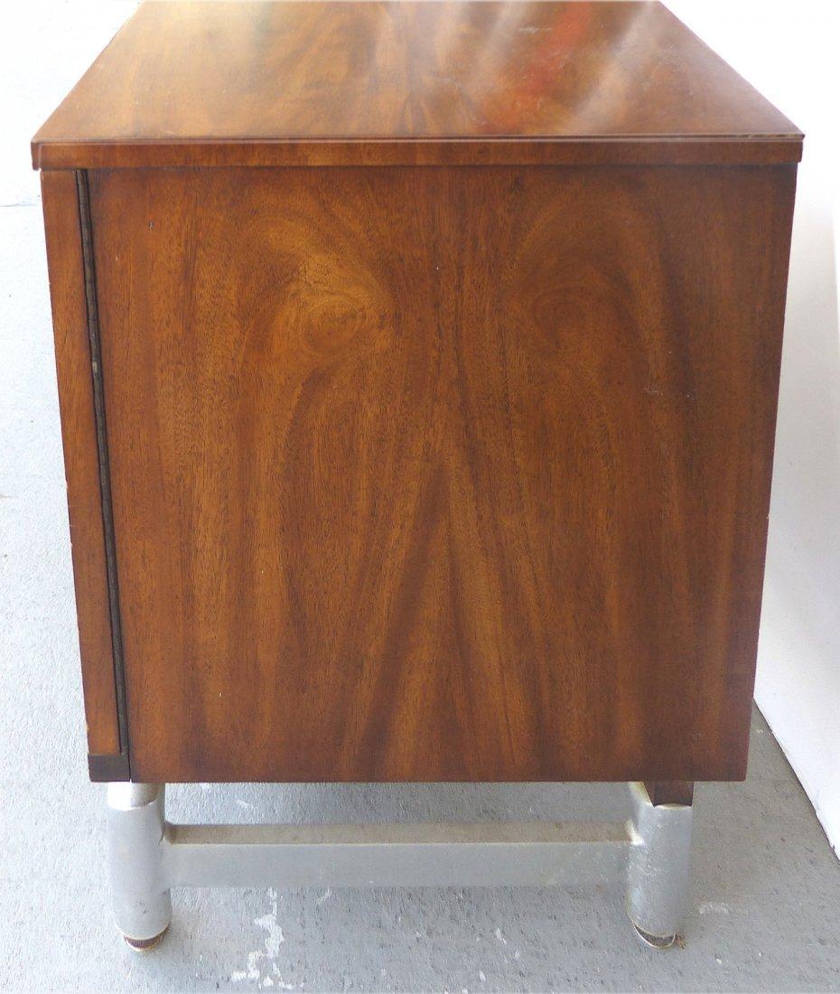 Mid-century Burl Side Table/Nightstands Baughman Style - 5