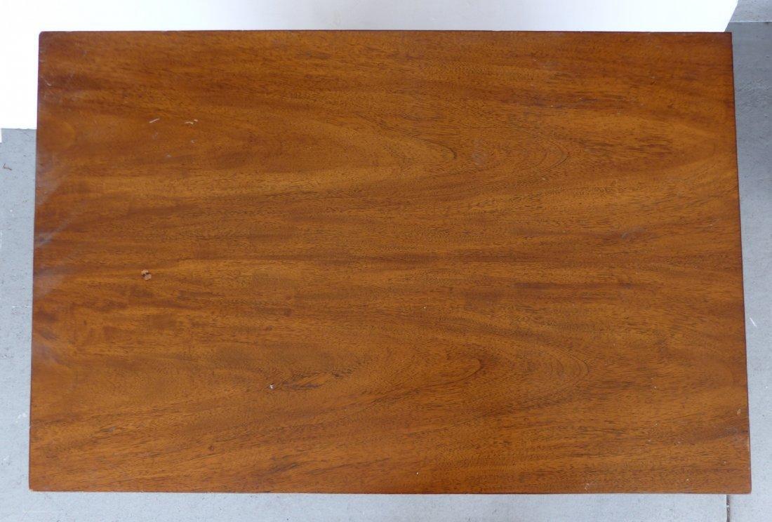 Mid-century Burl Side Table/Nightstands Baughman Style - 7