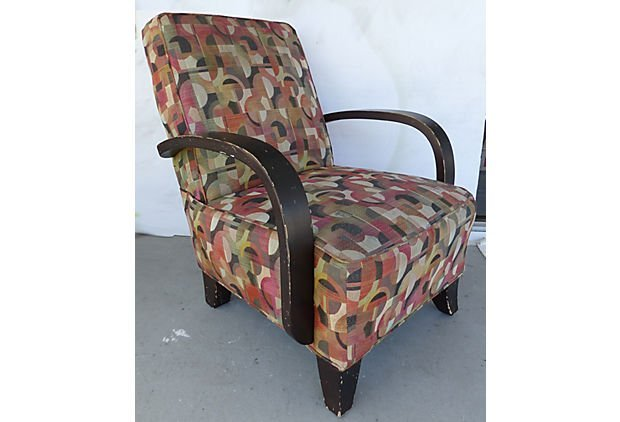Mid-century Modern Donghia Style Upholstered Chair