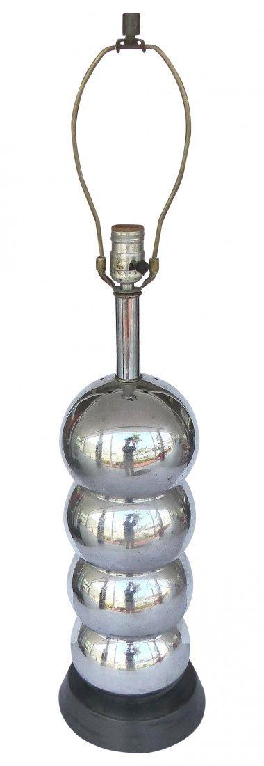 Mid-century Chrome Bubble Lamp George Kovacs Style