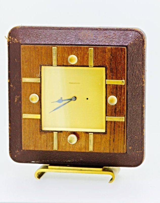 Jaeger Le Coultre Hand Winding Clock
