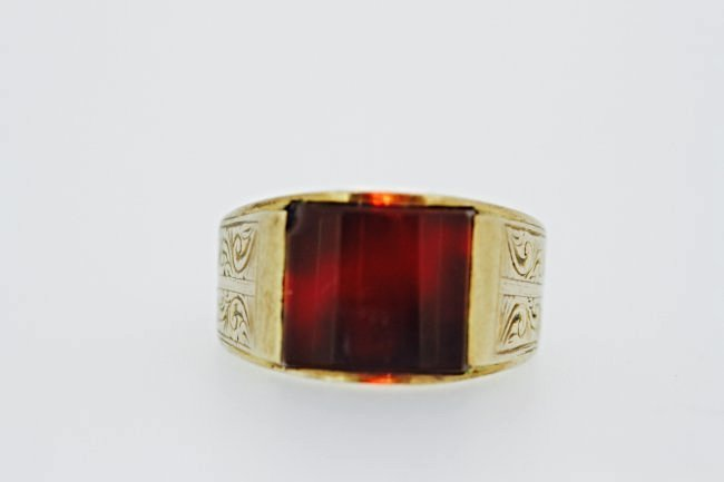 9K SOLID GOLD RING