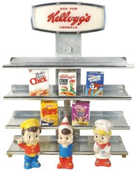 Country Store Display (9), Kellogg's Cereals Including