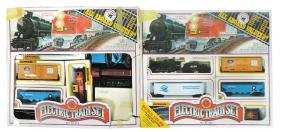 Toy train sets (2), Bachman HO Scale, VG/Exc cond,