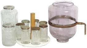 Kitchenware (11), Hoosier cabinet accessories, glass