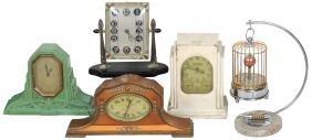 Clocks (5), Deco Crawford Automatic Range