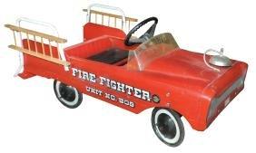 Children's pedal fire truck, AMF Fire Fighter Unit No.