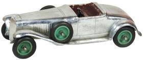 Toy car, Faith Mfg. Co.-Chicago roadster, heavy cast