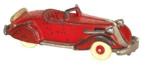 Toy car, Hubley Studebaker roadster, cast iron w/orig