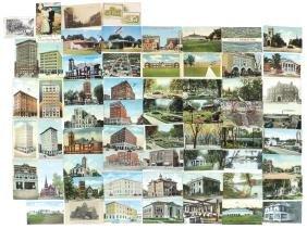Postcards (61), Waterloo, Iowa, photos of street