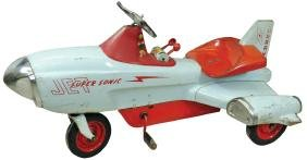 Children's pedal airplane, Supersonic Jet, mfgd by