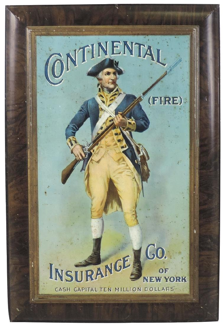 Insurance sign, Continental Insurance Co. of New York,