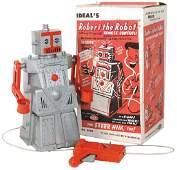 Toy robot Robert the Robot by Ideal 4049 talks