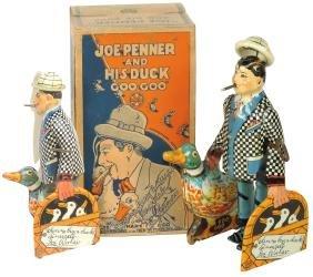 Toy w/box, Joe Penner and His Duck Goo-Goo, mfgd by