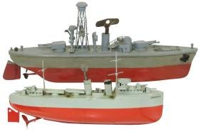"""Toy boats (2), Sutcliffe """"Marcella"""" & """"Grenville"""""""