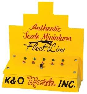 Toy boat motor dealer test stand, K & O Models Inc.