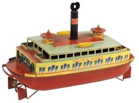 Toy boat, Hendrik Hudson Lackawanna Railroad pre-war