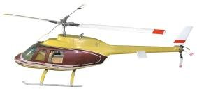Toy helicopter, hard plastic & metal, gas powered