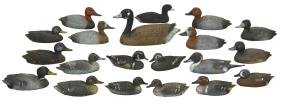 Decoys (20), Miniature Or Salesman Samples, Created By