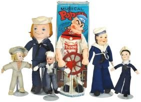 Nautical Dolls (6), (2) Norma Wellington Sailor Dolls,