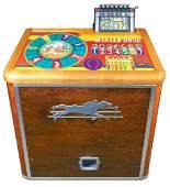 Coinoperated slot machine HC Evans Winter Book