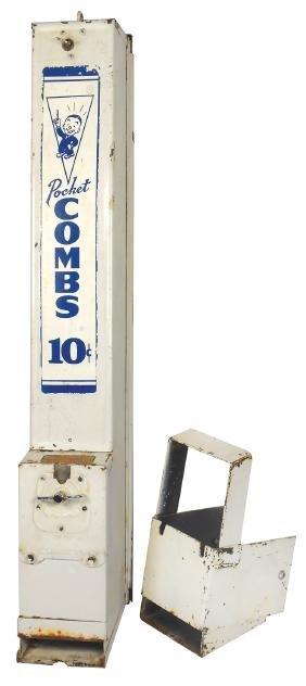Coin-operated comb vendor, Advance Machine Co.-Chicago,