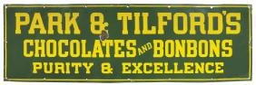 Candy store sign, Park & Tilford's Chocolates and