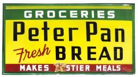 Country store sign, Peter Pan Bread, 5-color