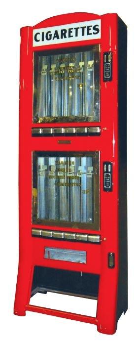 Coin-operated cigarette machine, Vend-Matic, Toronto,