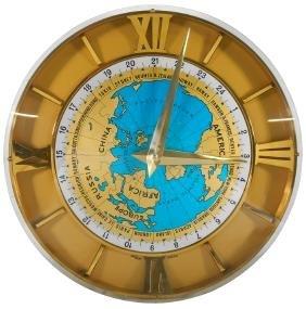 Clock, International 24-hour time clock, IMHOF Swiss