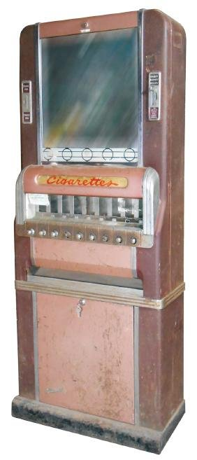 Coin-operated cigarette vending machine, National