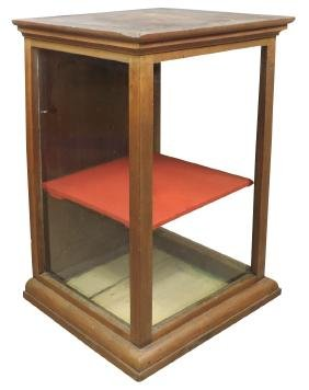 Country store display case, walnut countertop, nice