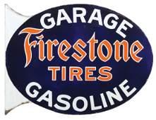 Automotive sign, Firestone Tires-Garage & Gasoline, DSP