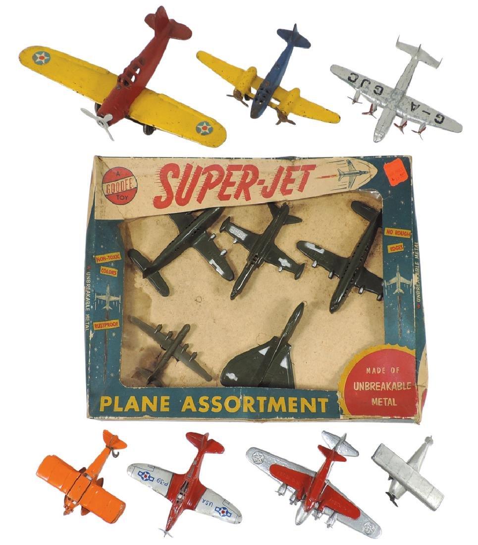 Toy airplanes, Goodee Super-Jet Plane Assortment & 7