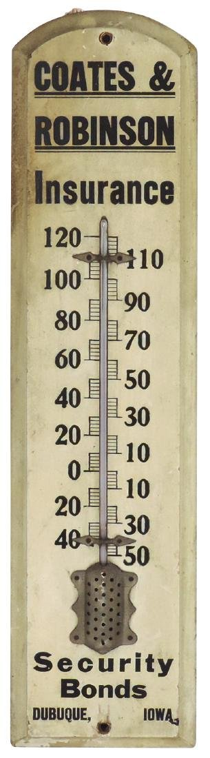 Advertising thermometer, Coates & Robinson