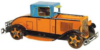 Toy car, Marx Cadillac Roadster tin windup, Rare,