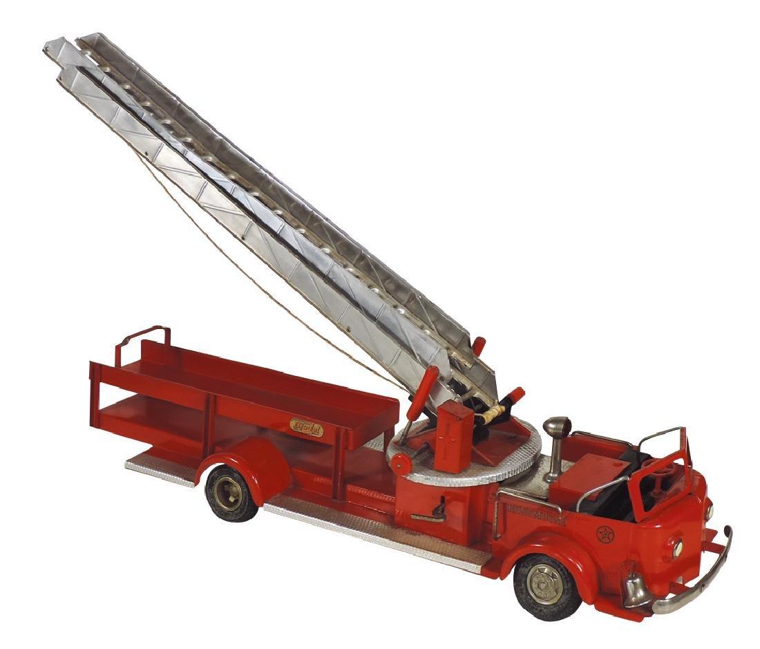 Toy fire truck, Doepke Model Toys American-Lafrance