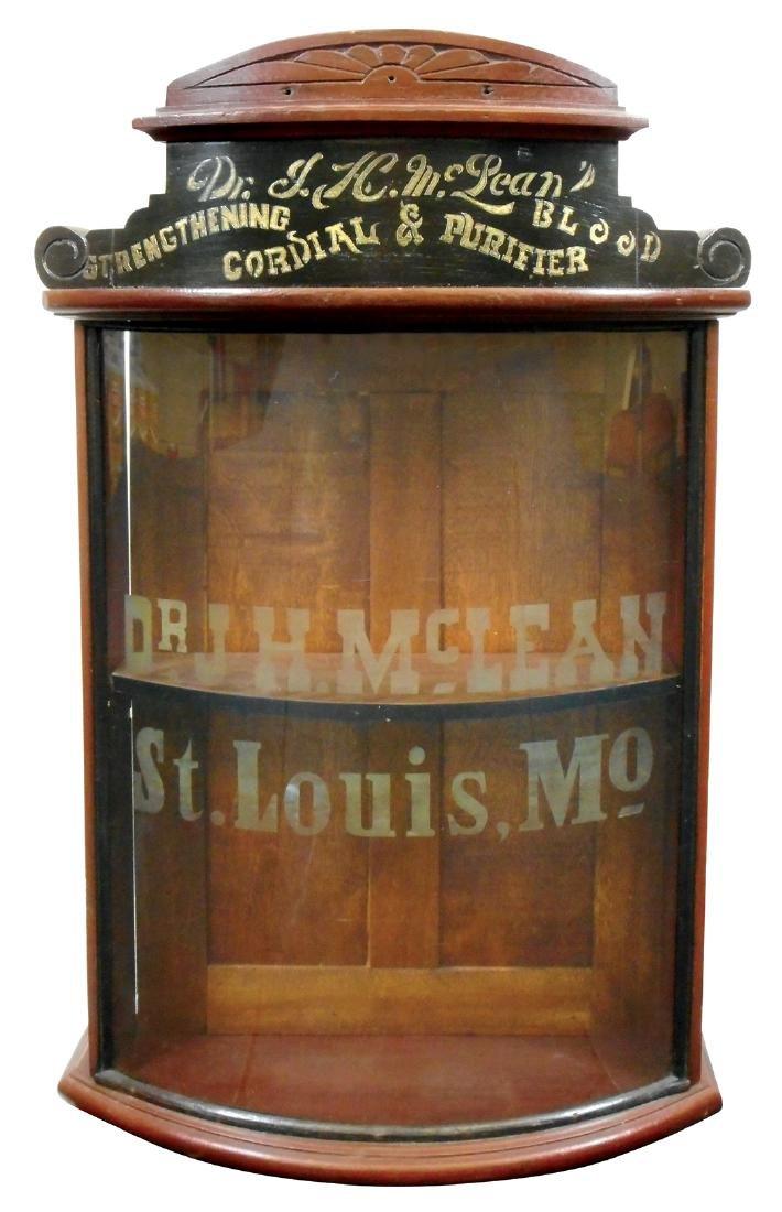 Veterinarian cabinet, Dr. J. H. McLean-St. Louis, MO,
