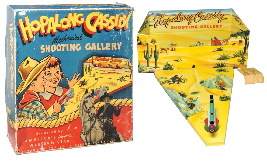 Hopalong Cassidy Shooting Gallery, No. 362, mfgd by