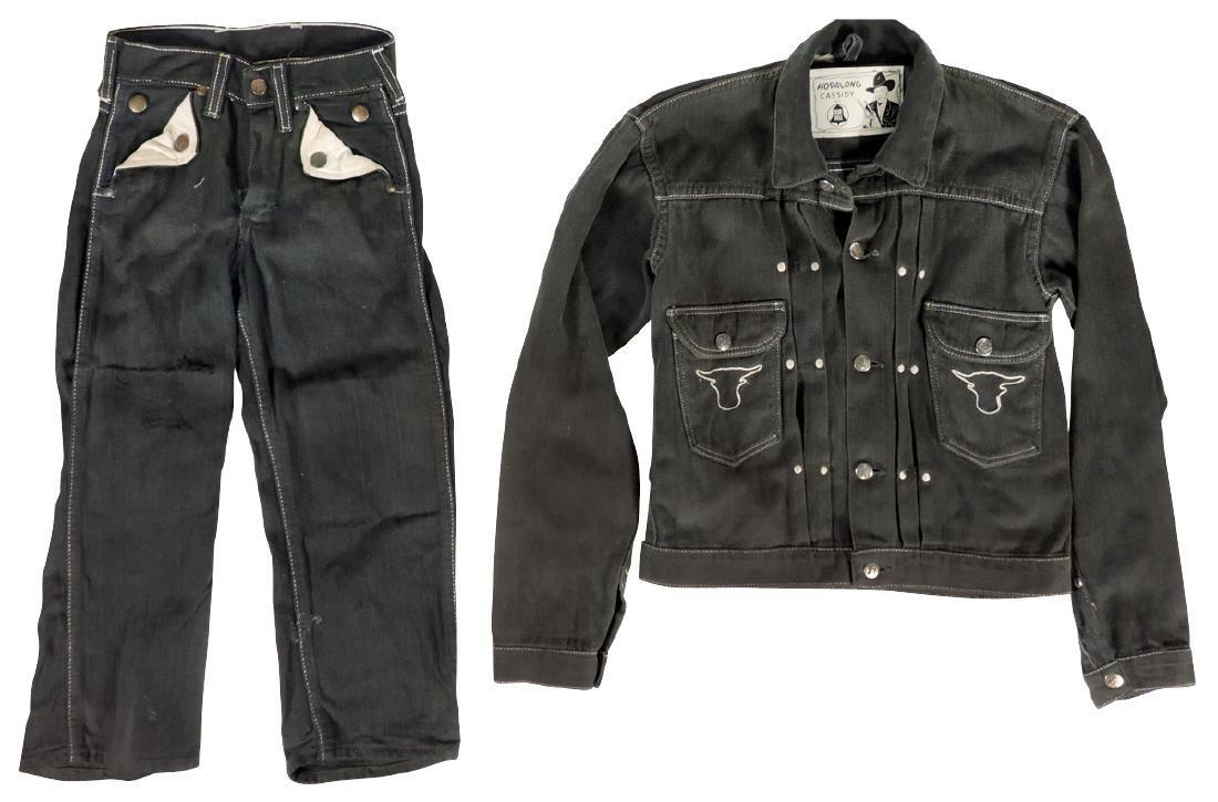 Hopalong Cassidy Children's jacket, jeans & banks (5),