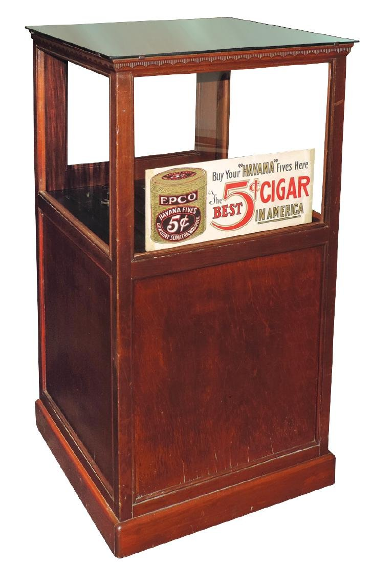 Country store advertising cigar case, Epco Havana
