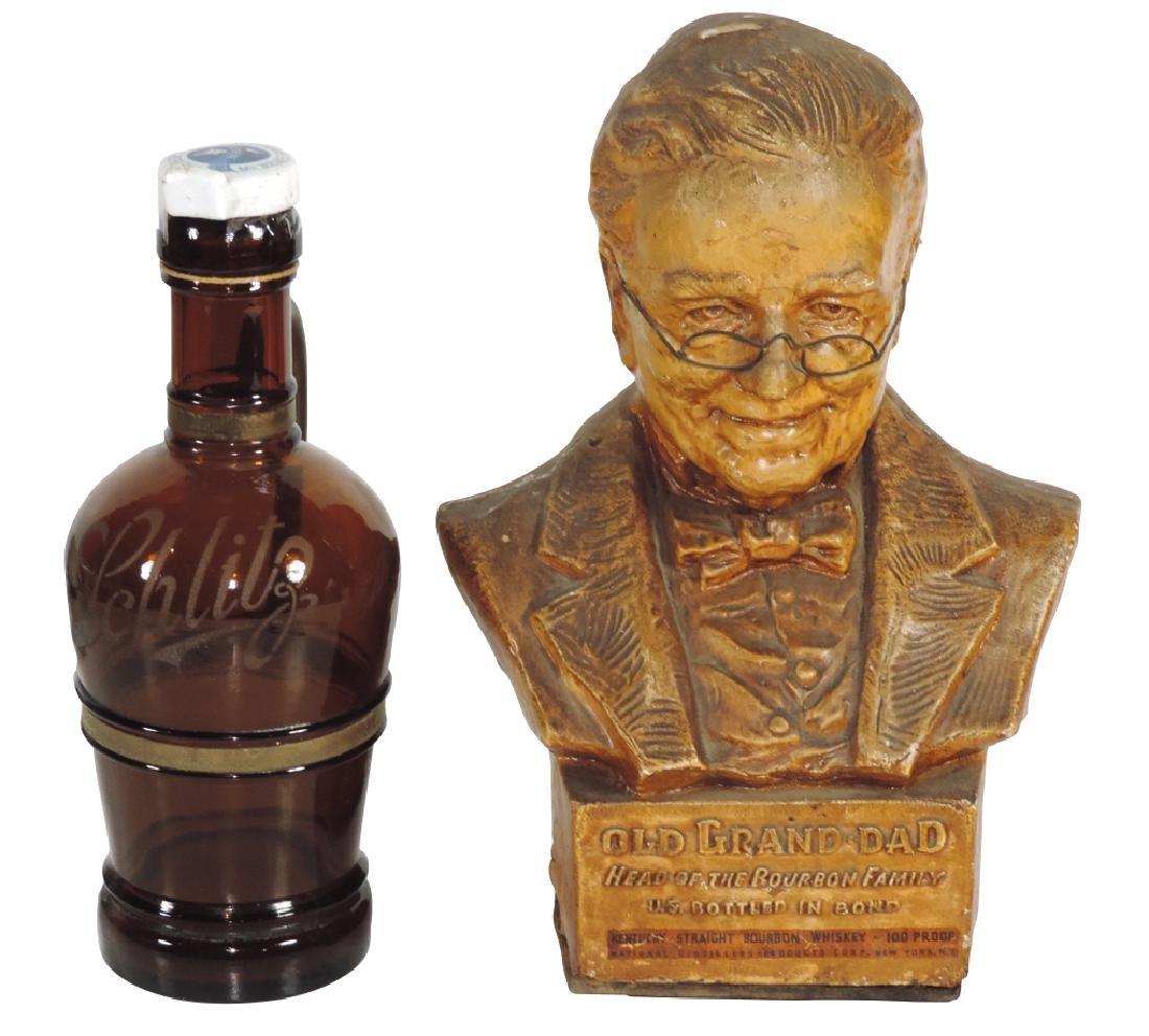 Breweriana (2), Rare Pre-Prohibition Schlitz etched