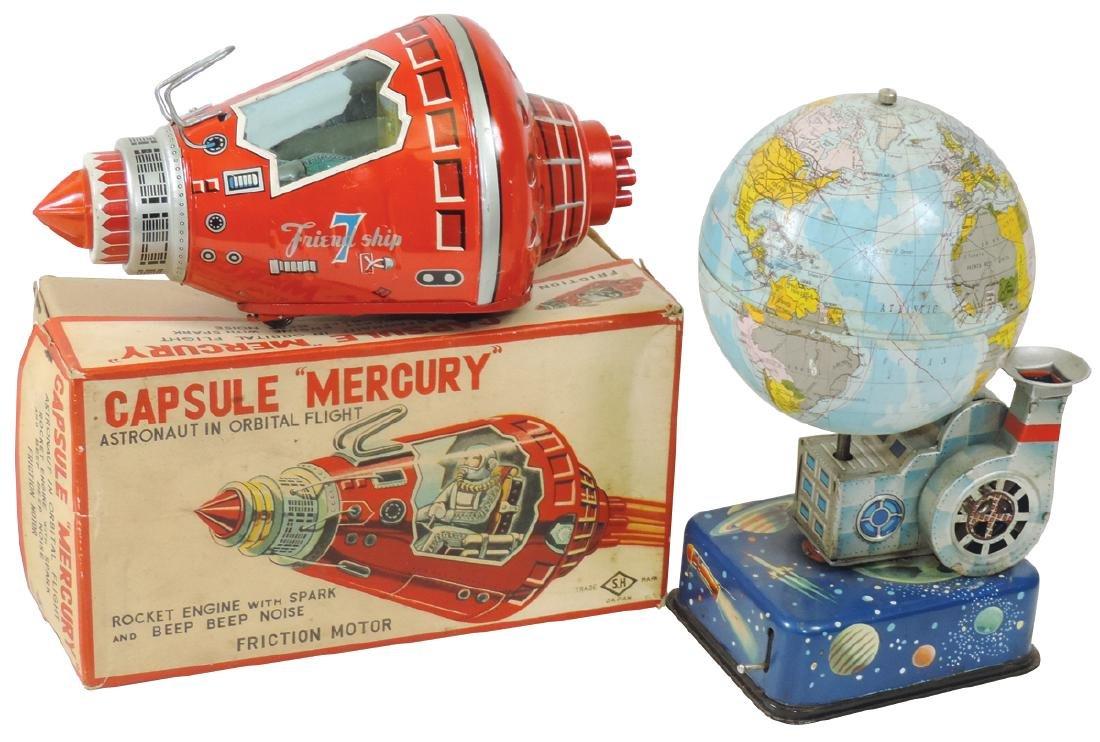 "Toys (2), Capsule ""Mercury"", Cragstan Horikawa, SH"