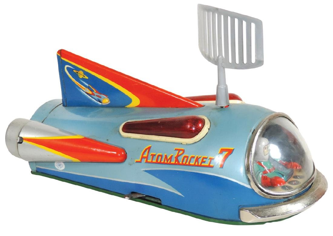 Toy, Modern Toys Atom Rocket 7, battery-operated,